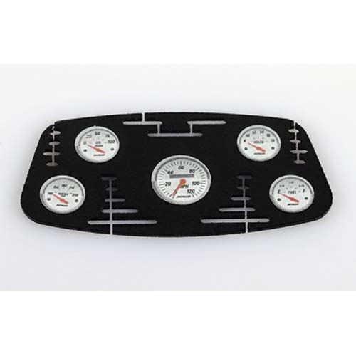 하비몬1/10 Black Instrument Panel with Instrument Decal Sheet (Style B)[상품코드]RC4WD