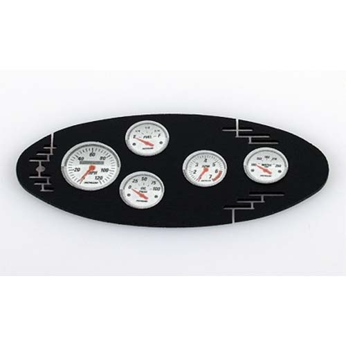 하비몬1/10 Black Instrument Panel with Instrument Decal Sheet (Style A)[상품코드]RC4WD