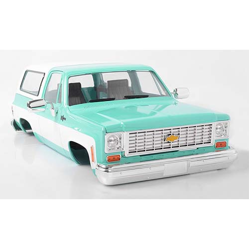 하비몬1/10 Chevrolet Blazer Hard Body Complete Set (Teal)[상품코드]RC4WD