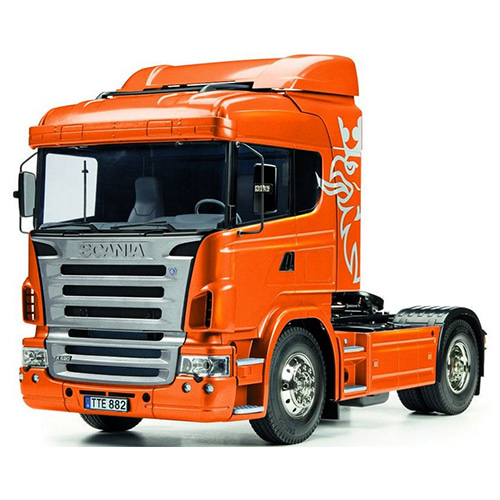 하비몬1/14 Scania R620 6x4 Highline - Full Op. Finished (Metallic Orange)[상품코드]TAMIYA
