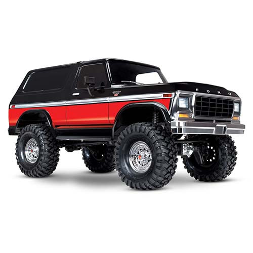 하비몬1/10 TRX-4 Trail Crawler Truck w/Ford '79 Bronco Ranger XLT Body (Red)[상품코드]TRAXXAS
