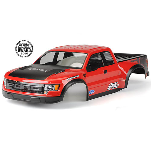하비몬1/10 Ford F-150 Raptor SVT True Scale Body (Pre-Painted/Pre-Cut/Red)[상품코드]PRO-LINE RACING