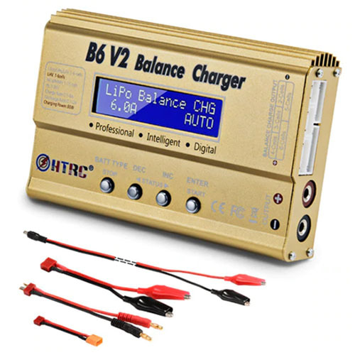하비몬B6 V2 Balance Charger 80W 6A + 12V 5A Power Supply[상품코드]IMAX