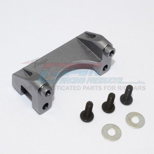하비몬Revo Alloy Front Damper Mount w/Counter Sink Washers & Screws - Gery Silver[상품코드]GPM