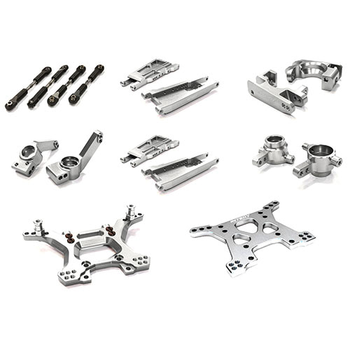 하비몬Billet Machined Stage 1 Suspension Kit for Traxxas 1/10 Slash 4X4 LCG[상품코드]INTEGY