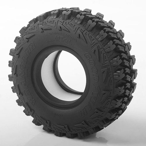 "하비몬[#Z-T0159] [2개 반대분] Goodyear Wrangler MT/R 1.55"" Scale Tires[상품코드]RC4WD"