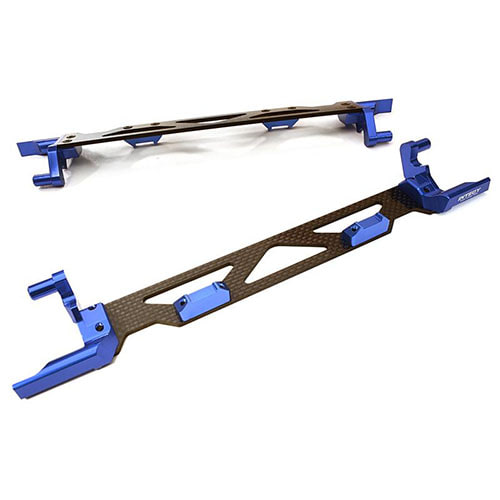 하비몬Machined Alloy & Composite Battery Hold-Down Plate for Traxxas X-Maxx 4X4 (Blue)[상품코드]INTEGY