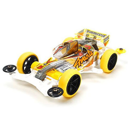 하비몬[MINI 4WD] 1/32 Avante Jr. Yellow Special Clear Body (VS)[상품코드]TAMIYA