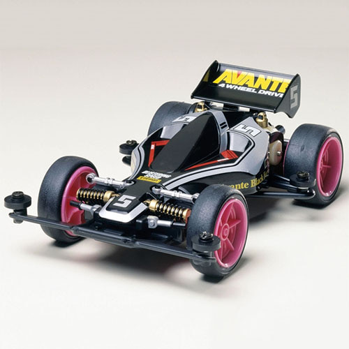 하비몬[MINI 4WD] 1/32 Avante Jr. Black Special (TYPE 2)[상품코드]TAMIYA