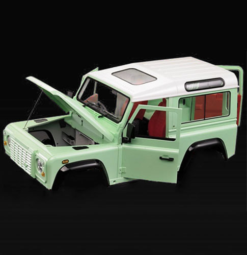 하비몬Defender D90 2-Door 1/10 Hard Body Kit (WB 257mm|Opening Doors)[상품코드]TEAM RAFFEE CO.