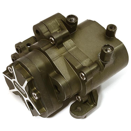하비몬[#C28486GUN] Billet Machined Alloy Center Gearbox for Traxxas TRX-4 Scale & Trail Crawler (Gun)[상품코드]INTEGY
