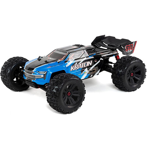 하비몬[#ARA106040T2] 1/8 Kraton 6S BLX Brushless RTR 4WD Monster Truck (Blue) (V4)[상품코드]ARRMA