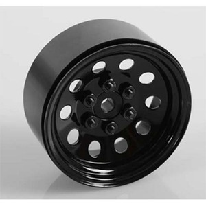 "하비몬[1개 낱개] Pro10 1.9"" Single Steel Stamped Beadlock Wheel (Black)[상품코드]RC4WD"