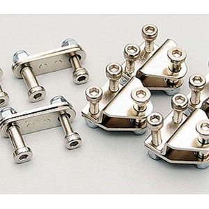 하비몬Leaf Spring Shackles & Mounts Kit (Silver)[상품코드]RC4WD