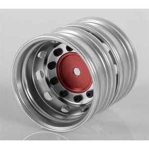 하비몬Boulder Semi Truck Rear Wheels with Scale Hub (Red) (Pair)[상품코드]RC4WD