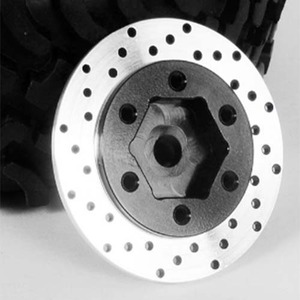 하비몬[4개 한대분] 1.5 & 1.7 Steel Wheel Hex Hub with Brake Rotor[상품코드]RC4WD
