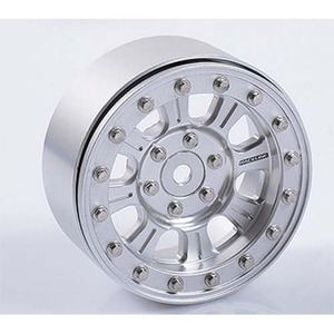 "하비몬[1개 낱개] Raceline Monster 2.2"" Single Beadlock Wheel (Silver)[상품코드]RC4WD"