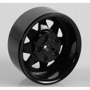"하비몬[1개 낱개] 5 Lug Wagon 1.9"" Single Steel Stamped Beadlock Wheel (Black)[상품코드]RC4WD"