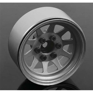 "하비몬[4개 한대분] OEM Stamped Steel 1.9"" Beadlock Wheels (Plain)[상품코드]RC4WD"