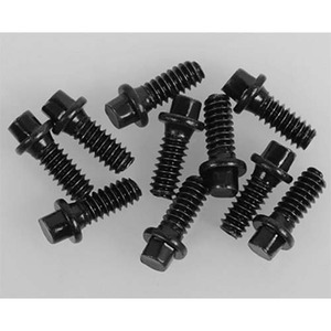 하비몬Miniature Scale Hex Bolts (M1.6 x 4mm) (Black)[상품코드]RC4WD