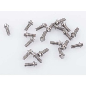 하비몬Miniature Scale Hex Bolts (M1.6 x 4mm) (Silver)[상품코드]RC4WD
