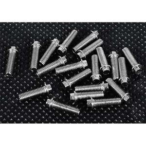 하비몬Miniature Scale Hex Bolts (M3 x 10mm) (Silver)[상품코드]RC4WD
