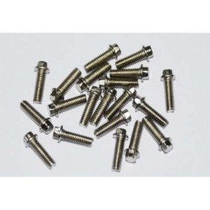 하비몬Miniature Scale Hex Bolts (M2.5 x 8mm) (Silver)[상품코드]RC4WD
