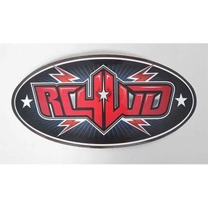 하비몬Monster Size RC4WD Logo Decal (Red)[상품코드]RC4WD