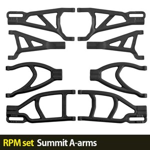 하비몬[RPM set] Summit A-arms (Black)[상품코드]-