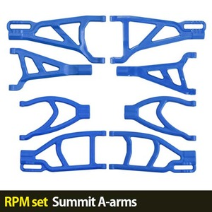 하비몬[RPM set] Summit A-arms (Blue)[상품코드]-