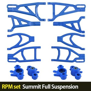 하비몬[RPM set] Summit Full Suspension A-arms (Blue)[상품코드]-