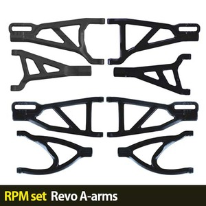 하비몬[RPM set] Revo A-arms (Black)[상품코드]-