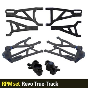 하비몬[RPM set] Revo True-Track A-arms (Black)[상품코드]-