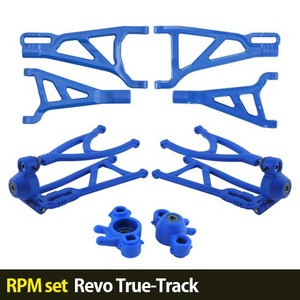 하비몬[RPM set] Revo True-Track A-arms (Blue)[상품코드]-