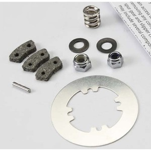 하비몬Rebuild kit, slipper clutch (steel disc/ friction pads (3)/ spring (2)/ 2x9.8mm pin/ 5x8mm MW/ 5.0mm NL (1)/ 4.0mm NL (1))[상품코드]TRAXXAS