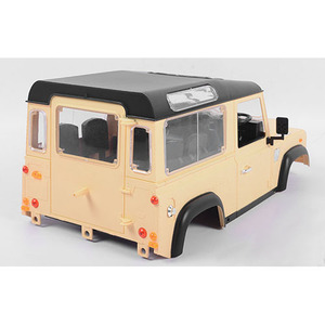 하비몬[단종] 1/10 Land Rover Defender D90 Limited Edition Pre-painted Yellow Body - 마지막재고[상품코드]RC4WD