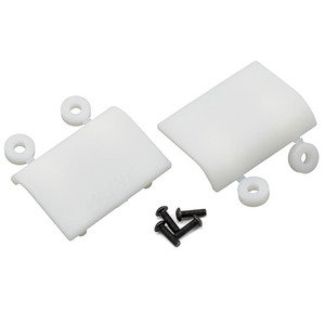 하비몬HPI BAJA 5B Replacement Shock Skid Plates (Dyeable White)[상품코드]RPM