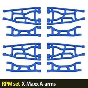 하비몬[RPM set] X-Maxx A-arms (Blue)[상품코드]-