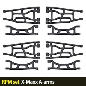 하비몬[RPM set] X-Maxx A-arms (Black)[상품코드]-