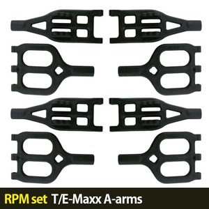 하비몬[RPM set] T/E-Maxx A-arms (Black)[상품코드]-