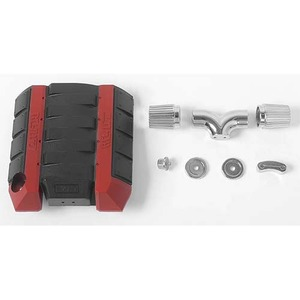 하비몬V8 Engine Cover with Metal Intake Set for R3 Transmission[상품코드]RC4WD