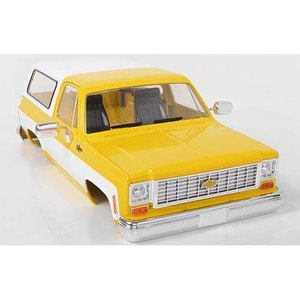 하비몬1/10 Chevrolet Blazer Hard Body Complete Set (Yellow)[상품코드]RC4WD