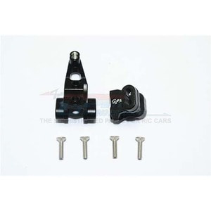 하비몬TRX-4 Alum. Front Axle Mount Set For Suspension Links - Black[상품코드]GPM
