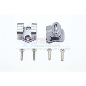 하비몬TRX-4 Alum. Rear Axle Mount Set for Suspension Links - Grey Silver[상품코드]GPM