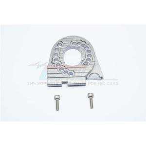 하비몬TRX-4 Alum. Motor Mount Plate with Heat Sink Fins - Grey Silver[상품코드]GPM