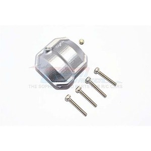 하비몬SCX10 II Alum. Front/Rear Differential Cover w/Hole - Grey Silver[상품코드]GPM