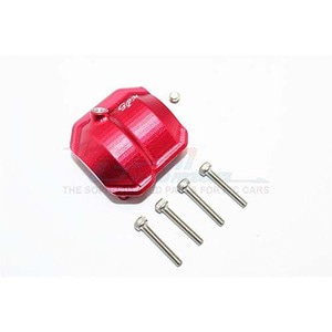 하비몬SCX10 II Alum. Front/Rear Differential Cover w/Hole - Red[상품코드]GPM