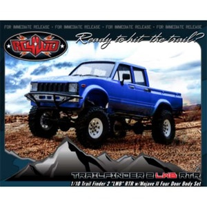 "하비몬1/10 Trail Finder 2 ""LWB"" ARTR w/Mojave II Four Door Body Set - 송수신기 별도[상품코드]RC4WD"