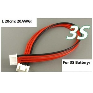 하비몬3S Li-Po Battery Balance Charging Extension Wire Cable (20cm)(리포알람/밸런스연장)[상품코드]HOBBYMALL