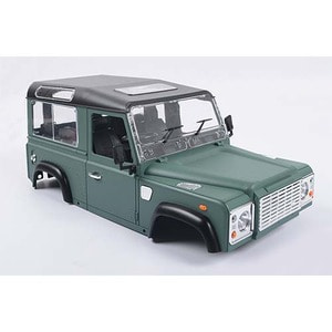 하비몬[단종] 1/10 Land Rover Defender D90 Limited Edition Pre-painted Green Body[상품코드]RC4WD